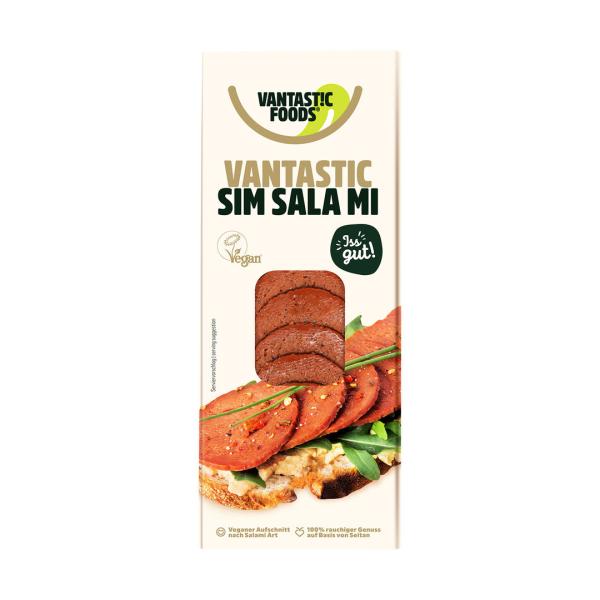 Vantastic foods Sim Salami Aufschnitt 80g